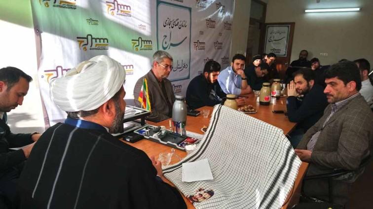 با حضور مسئولین مراکز دفتر استانی اردبیل،