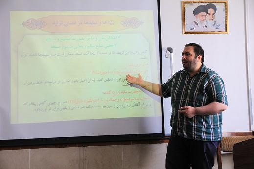 دوره آموزشی سواد فضای مجازی با حضور فعالین بسیج برگزار شد.