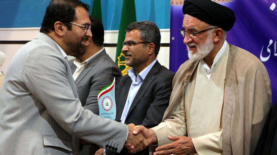 آیین تجلیل از دستاندرکاران برتر چهلمین سالگرد پیروزی انقلاب اسلامی