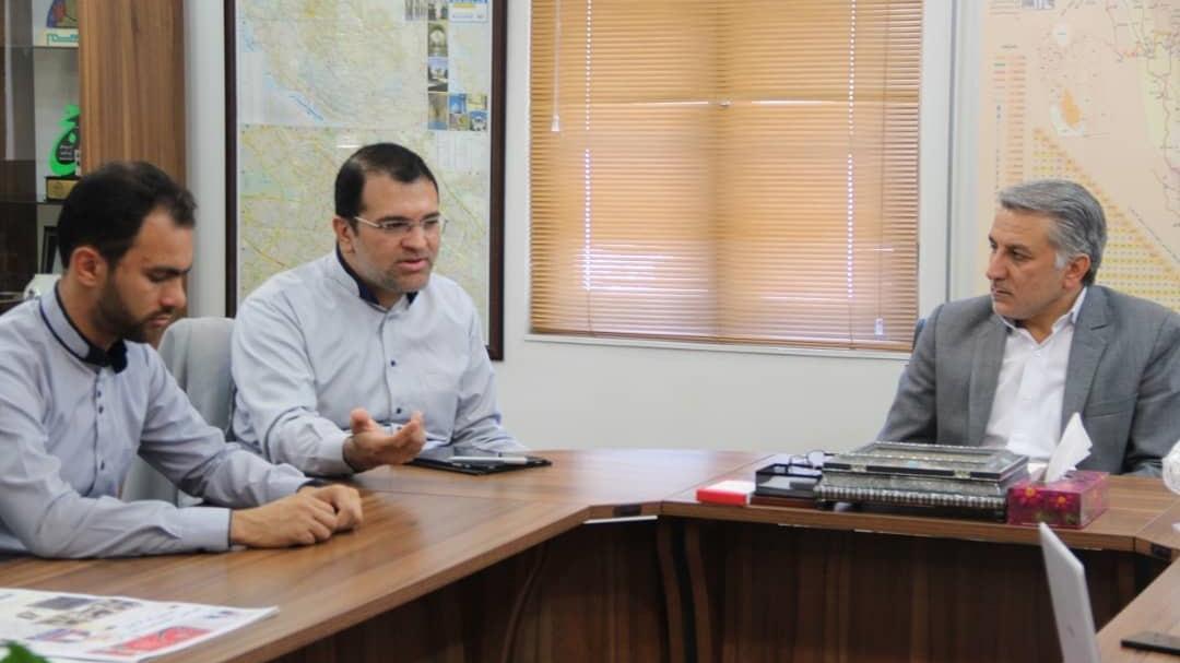 جلسه هم اندیشی با اداره کل فرهنگ و ارشاد اسلامی استان فارس