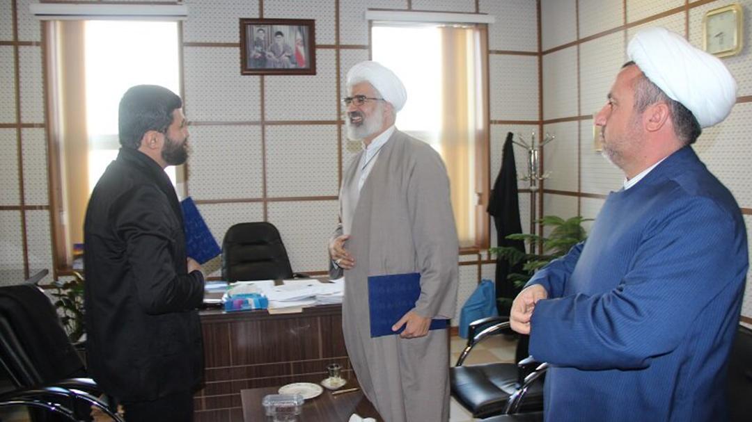 تفاهم نامه همکاری بین حوزه قزوین و سازمان سراج امضاء شد