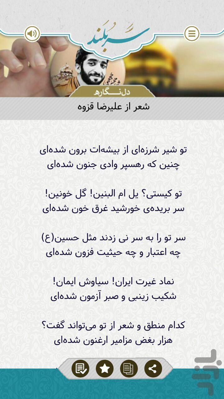سربلند- شهید حججی